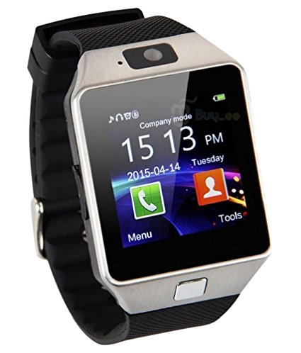 Smartwatch with SIM Slot, Memory Card Slot and Camera Support